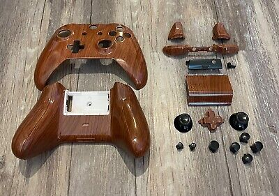 $19.99 • Buy Xbox One S Controller Custom Woodgrain Hydro Dipped Shell & Buttons Kit Wood