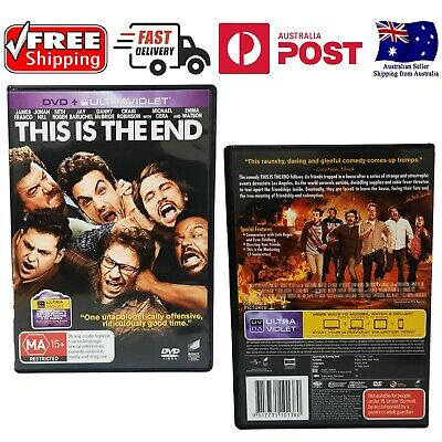 AU9.99 • Buy THIS IS THE END , James Franco, Jonah Hill, - Like New *FREE SHIPPING