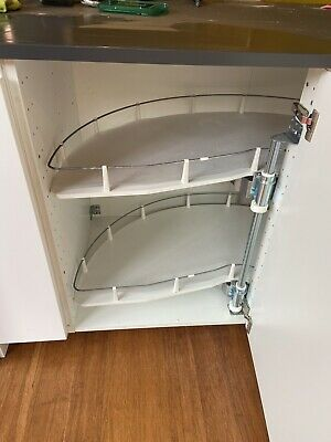 £25 • Buy Ikea Metod Base Corner Cabinet With Pull Out Shelves And Voxtorp Door