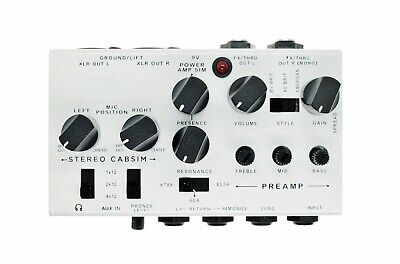 $ CDN137.92 • Buy Guitar DI And Preamp With Cab Sim Amp Effect Pedal Simplifier Clone