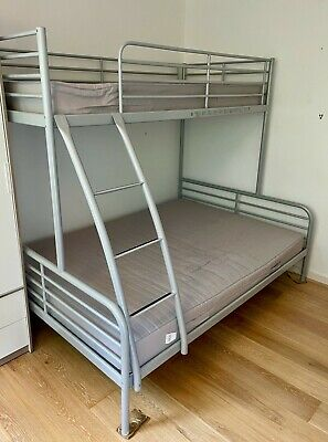 £26 • Buy Ikea Bunk Bed (Used). Bottom Bunk Is A Double, Top Bunk Is Single Bed