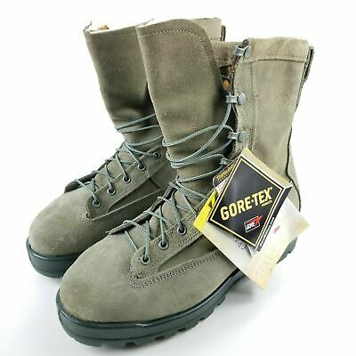 $69 • Buy Belleville 675 ST Mens Size 7.5 Steel Toe Combat Boots Insulated Gore Tex Sage
