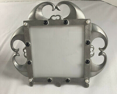 £8.63 • Buy Photo Picture Frame Renegade Metal Hearts Medieval Revival Style  Fits 4 X 4