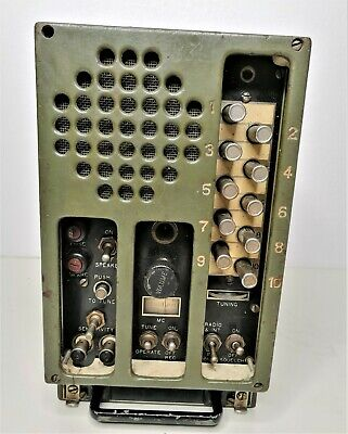 $89 • Buy WWII Military Receiver SIGNAL CORPS BC-603-D