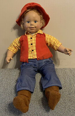 """£18.99 • Buy Life Size Smoby Doll """"ROBY""""  In Woody Outfit - 24  Tall - Great Condition"""
