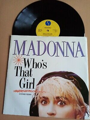 £3.99 • Buy Madonna Who's That Girl. 12 Single In VGC. Sire W8341T. 1987