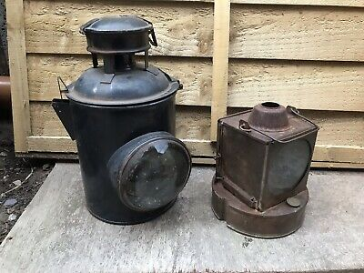£35 • Buy BR WR Railway Signal Lamp With Paraffin Lamp Burner