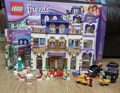 £24.99 • Buy Retired LEGO Friends Heartlake Grand Hotel 41101 Almost Complete Set With Box