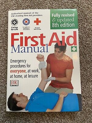 £1.20 • Buy 8th Edition First Aid Healthcare Manual Book British Red Cross St John Ambulance