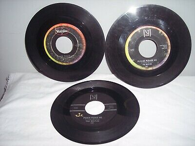 £11.50 • Buy Rock 45 The Beatles 3 Different Vee-Jay Lables PLEASE PLEASE ME/FROM ME TO YOU