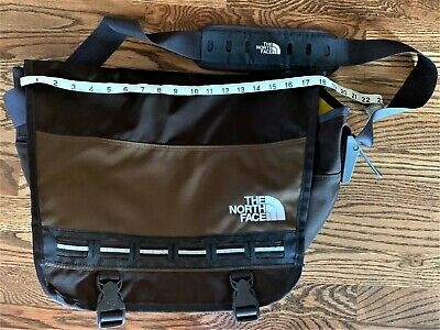 $19.99 • Buy The North Face Laptop Messenger Bag Cross Body Satchel Backpack Brown Cell Phone