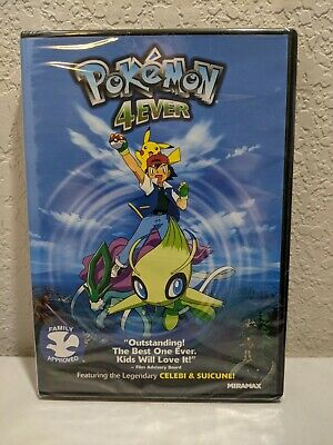 $7 • Buy Pokemon 4EVER (BRAND NEW SEALED DVD, Widescreen) Family Approved
