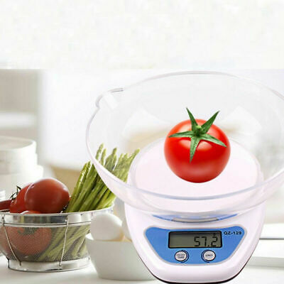 £10.99 • Buy 5KG Digital Kitchen Scales LCD Electronic Cooking Weighing Scale With Bowl 2022