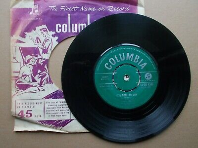 £2.95 • Buy Paul Anka: It's Time To Cry / Something Has Changed Me. Columbia 45-DB 4390.1959