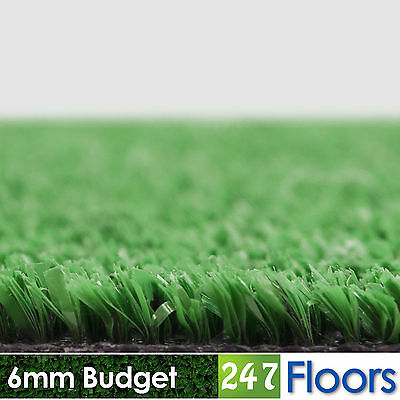 £0.99 • Buy Budget Artificial Grass Astro Cheap Lawn £4.25/m² 2m 4m Fake Grass CLEARANCE