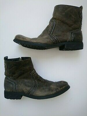 $46.98 • Buy Bed Stu Mens Revolution Rustic Distressed Leather Boots Size 9