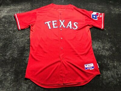 $94.95 • Buy Texas Rangers Authentic Majestic Jersey Size 52 #50 LEE MLB
