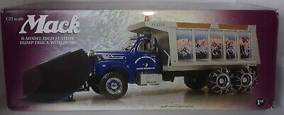 $299.99 • Buy First Gear #49-0021 Mack B High Mountain Snow Removal Model Dump Truck With Plow