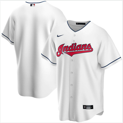 $59.99 • Buy Cleveland Indians Mlb Majestic Authentic Cool Base Adult Navy  Jersey Nwt