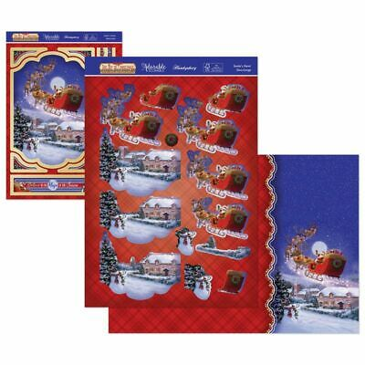 £2.49 • Buy Hunkydory The Joy Of Christmas Deco Large SANTA'S HERE Toppers Kit 2021