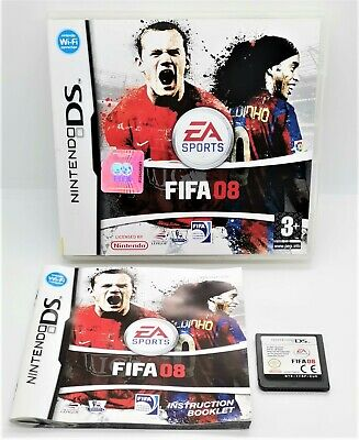 £3.99 • Buy FIFA 08 Video Game For Nintendo DS PAL TESTED