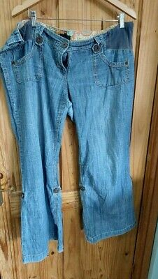 £10 • Buy Next Maternity Slouch Jeans 18R