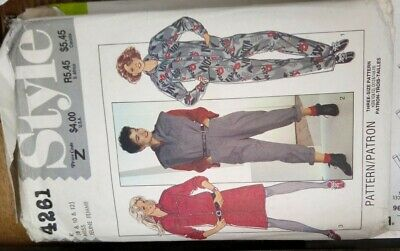 £2.20 • Buy Style Sewing Pattern. Ladies Collared Jumpsuit And Tunic, Various Sleeve Length