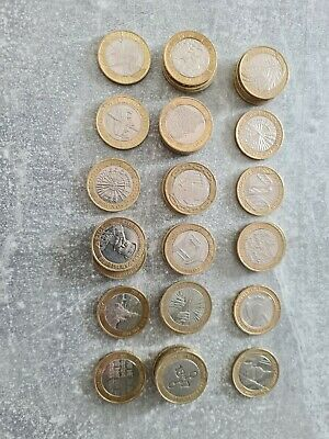 £99 • Buy Job Lot £2 Pound Coins & 50p Coins