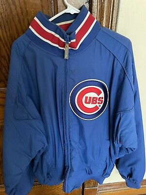 $46 • Buy 2001 Chicago Cubs 9/11 Majestic Authentic Collection Dugout Jacket Size XL