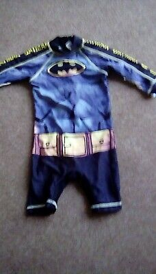 £1.99 • Buy Boys All In One Swimsuit Age 1.5 - 2 Years Batman By George