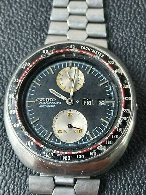 $ CDN241.38 • Buy Seiko 6138-0011 UFO Automatic Chronograph Watch FOR RESTORE OR PARTS