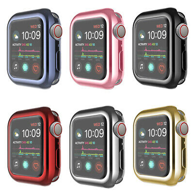 AU7.89 • Buy Case For Apple Watch 6 5 4 3 SE Screen Protector TPU Cover IWatch 38/42/40/44mm