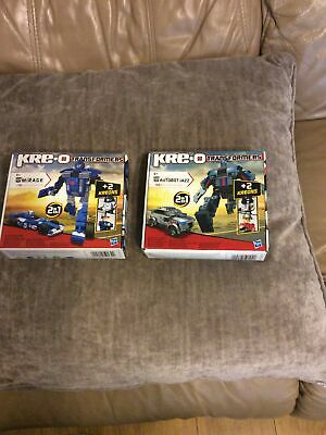 £11.99 • Buy See Description Kreo Transformers Autobot Jazz And Mirage Free Postage
