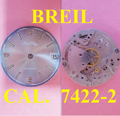 $ CDN26.74 • Buy Breil Okay Int Cal 7422 2 Dial 25,5 Movement Watch For Parts Not Working Vintage