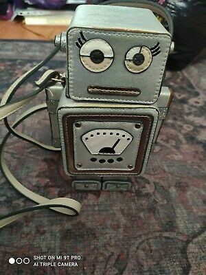£15 • Buy Robot Bag, Acessorize, Cute Quirky Bag, Shoulder Strap, Small Sized