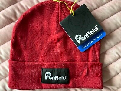 £14.99 • Buy New PENFIELD Acc Classic Beanie, Chilli Red, One Size NEW WITH TAGS