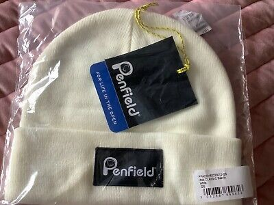 £14.99 • Buy Mens PENFIELD Acc Classic White Beanie NEW WITH TAGS