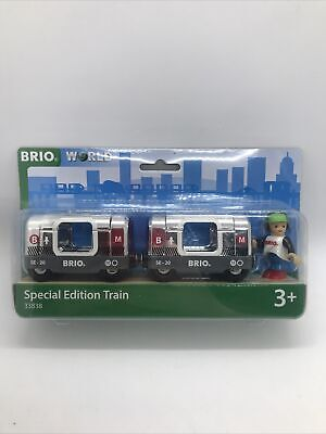 £18.50 • Buy Brio World Special Edition Train Set 33838 Childrens Toy Set For Ages 3+ Boxed