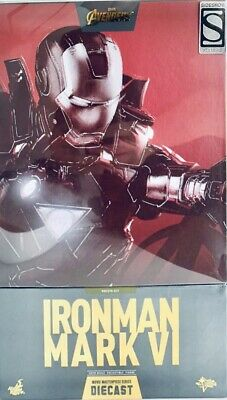 £484.99 • Buy Hot Toys MMS378-D17 Marvel Iron Man Mark VI 6 Sideshow Exclusive Special Edition