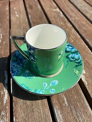 £24.99 • Buy Jasper Conran At Wedgwood Chinoiserie Green Espresso Cup & Saucer