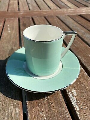 £24.99 • Buy Jasper Conran At Wedgwood Colours Pale Green Espresso Cup & Saucer