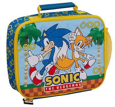 £11.95 • Buy Sonic The Hedgehog Lunch Bag Sega Insulated Lunch Box For Kids School Cooler Bag