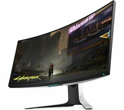 AU1483.57 • Buy ALIENWARE AW3420DW Quad HD 34.1  Curved LCD Gaming Monitor - White - Currys