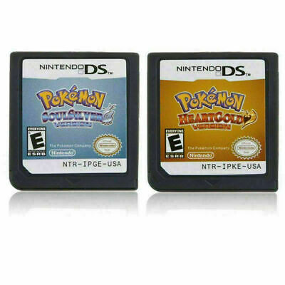 $17.99 • Buy Heart Gold Soul Silver Platinum Game Card For Pokemon Nintendo 3DS NDS Lite NDSI