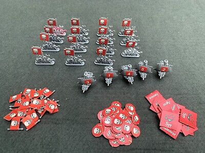 £13.50 • Buy Mighty Empires Original Spares Warhammer 40k Gw Red Army Ships And Tokens