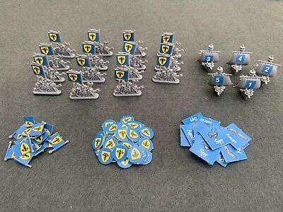 £13.50 • Buy Mighty Empires Original Spares Warhammer 40k Gw Blue Army Ships And Tokens