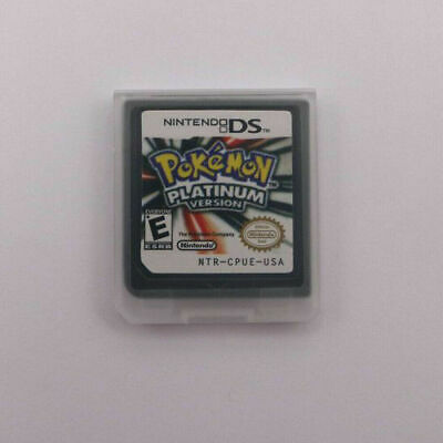 $13.99 • Buy HOT Pokemon Platinum Version Game Card For 3DS NDSI NDS NDSL Lite New