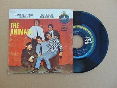 £32.19 • Buy The Animals Rare Mexican Ep Musart Records House Of The Rising Sun First Press