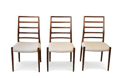 £5900 • Buy Set Of 6 Neils Otto Moller Dining Chairs Model Number 82