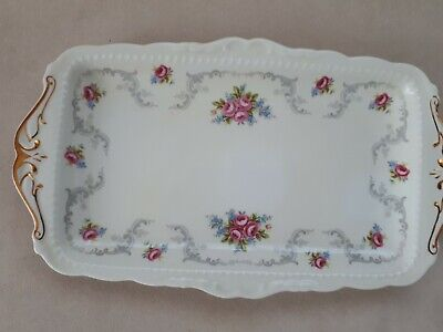 £18 • Buy Royal Albert Tranquility Sandwich Tray. 29x16cms.  1st Quality. Good Cond.